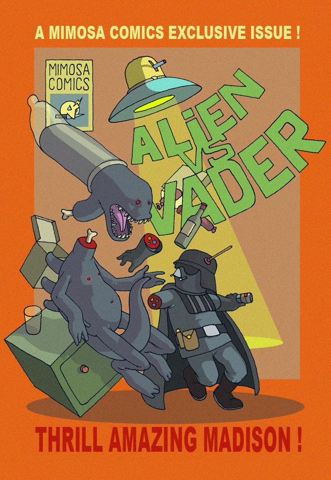 Alien vs Vader Final