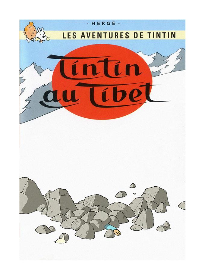 Tintin Au Tibet res